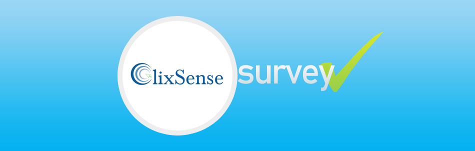Clixsense survey banner
